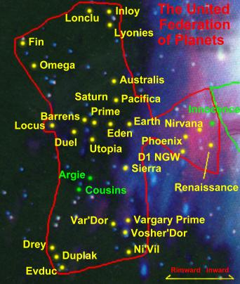 map of federation of planets - photo #23